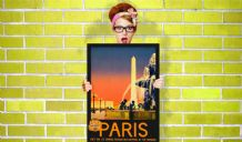 Paris, France  - Decorative Arts, Prints & Posters,Wall Art Print, Poster , Vintage Travel Poster